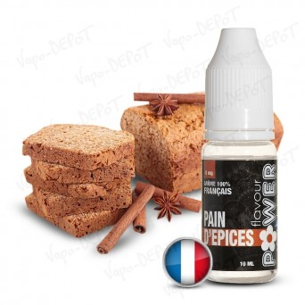 FLAVOUR POWER e-liquide PAIN D'ÉPICES