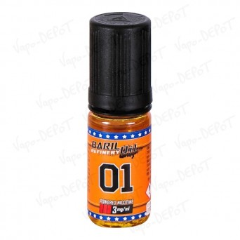 E-liquide BARIL OIL O1 10 ml