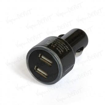 Adaptateur Allume-cigare/USB Double 2 Ampères