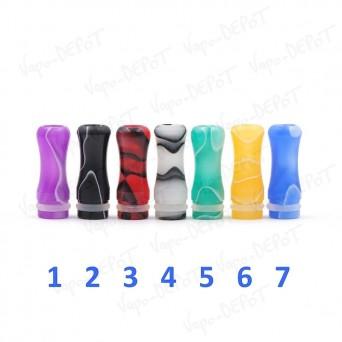 Drip-Tip (embout) plastique versicolor