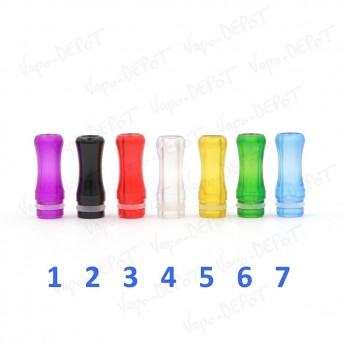 Drip-Tip plastique couleur
