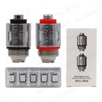 Pack-5 résistances JUSTFOG Q16 / Q14 / C14 / G14 / S14
