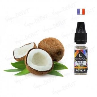 ROYKIN e-liquide arôme Lait de Coco