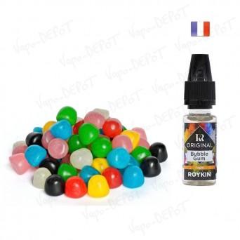 ROYKIN e-liquide arôme bubble gum