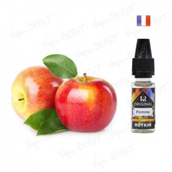 ROYKIN e-liquide arôme pomme