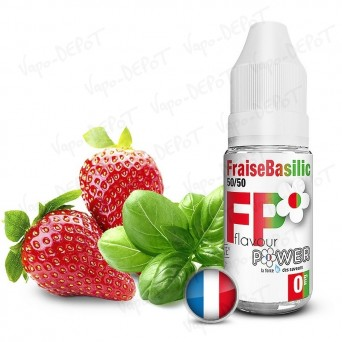 Flavour Power Fraise Basilic 50/50