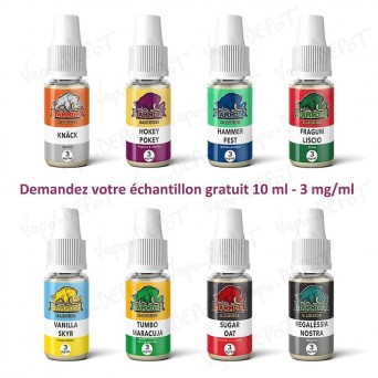 Echantillon gratuit MAMMOTH 10 ml - 3 mg/ml