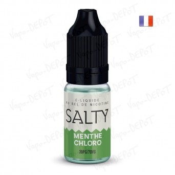 E-liquide SALTY Menthe Chloro