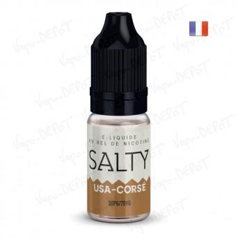 E-liquide SALTY USA Corsé
