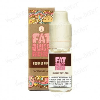 Pulp Fat Juice Factory Coconut Puff