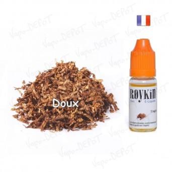 ROYKIN e-liquide arôme tabac doux