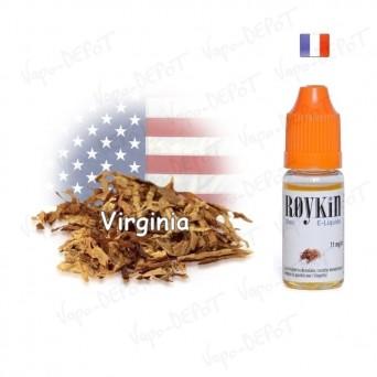 ROYKIN e-liquide arôme tabac virginia