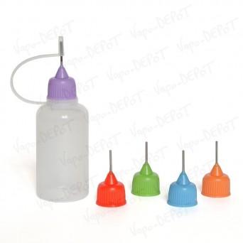 Flacon-Aiguille 30 ml - Bouchon couleur