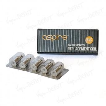 Pack-5 têtes résistances verticales ASPIRE BVC