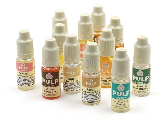 Flacons de e-liquides PULP