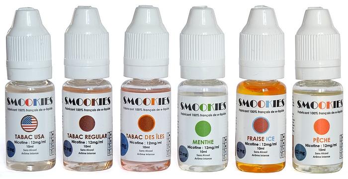Flacons de e-liquide SAVOUREA-SMOOKIES